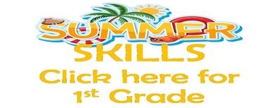 Summer Skills 1st Grade