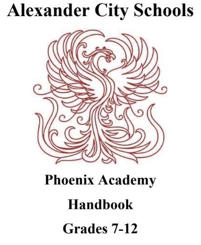 Phoenix Academy Handbook