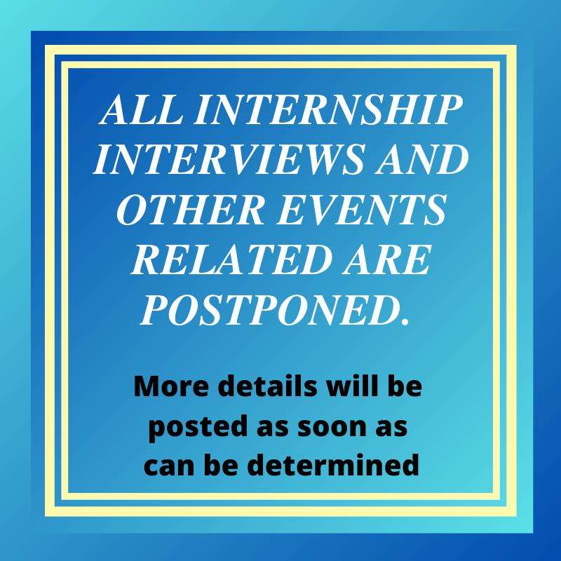 Internship Information