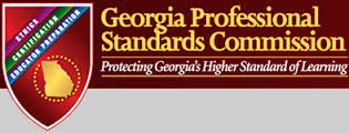 Georgia Professional Standards Commission logo and link