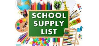 Desoto County School Supply Lists