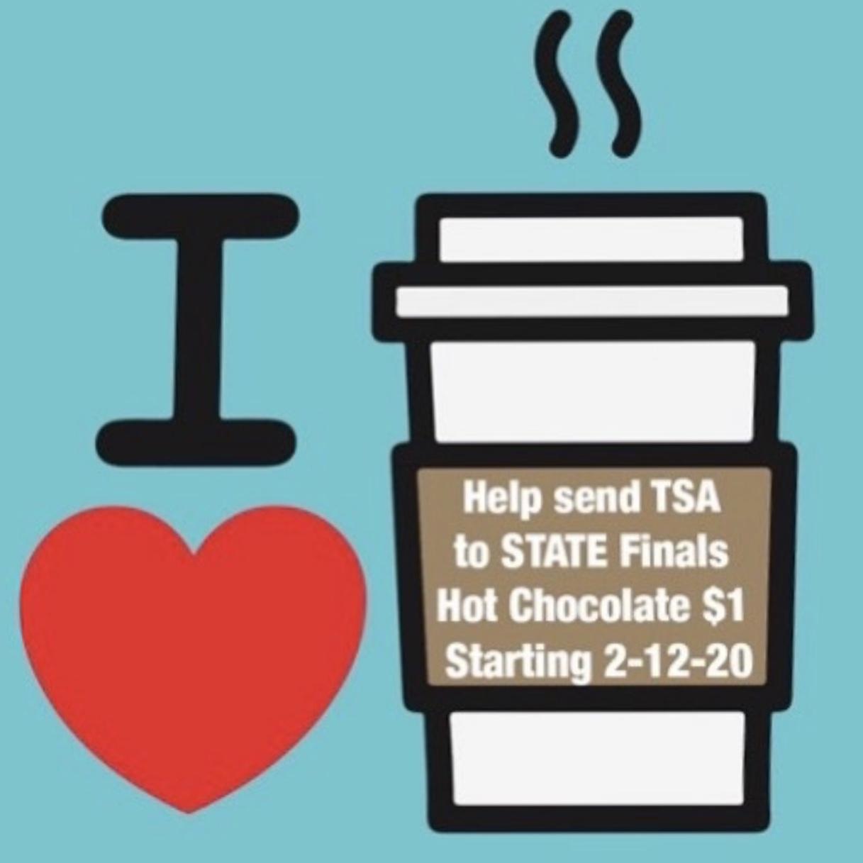 hot chocolate fundraiser flyer