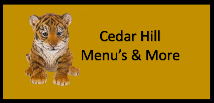 Cedar Hill Menu's and Meal Viewer