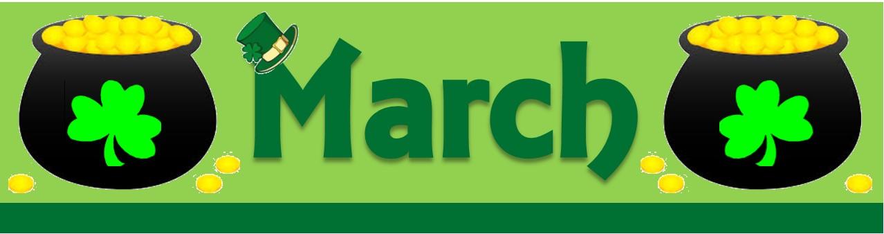 March Banner