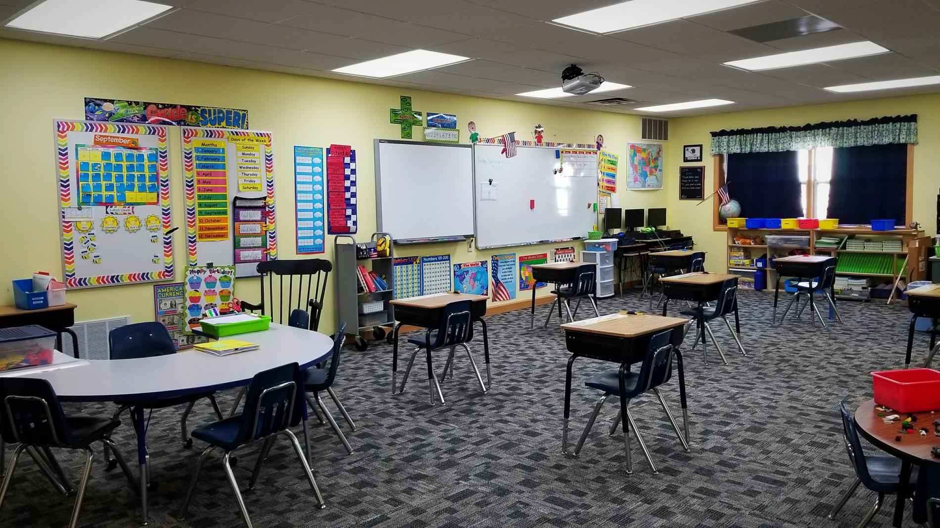 2nd Grade room