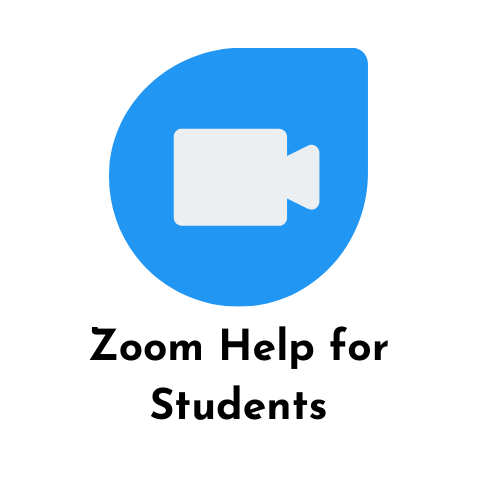 zoom help for students