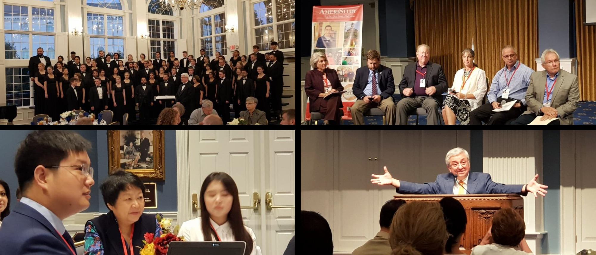 Collage with Choir, JKim, panel, Chinese