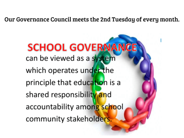 School Governance can be viewed as a system which operates under the principle that education is a shared responsibility and accountability among school community stakeholders
