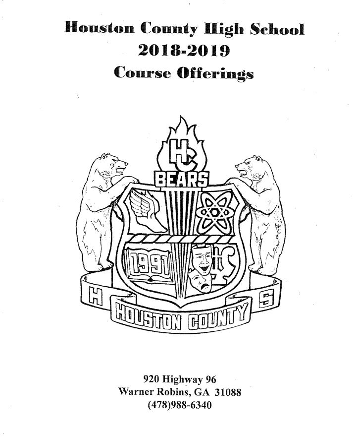 HCHS 2019-2020 Course Offerings Cover