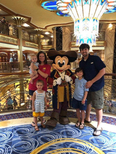 Mrs. Johnson and her FAMILY on a Disney Cruise!