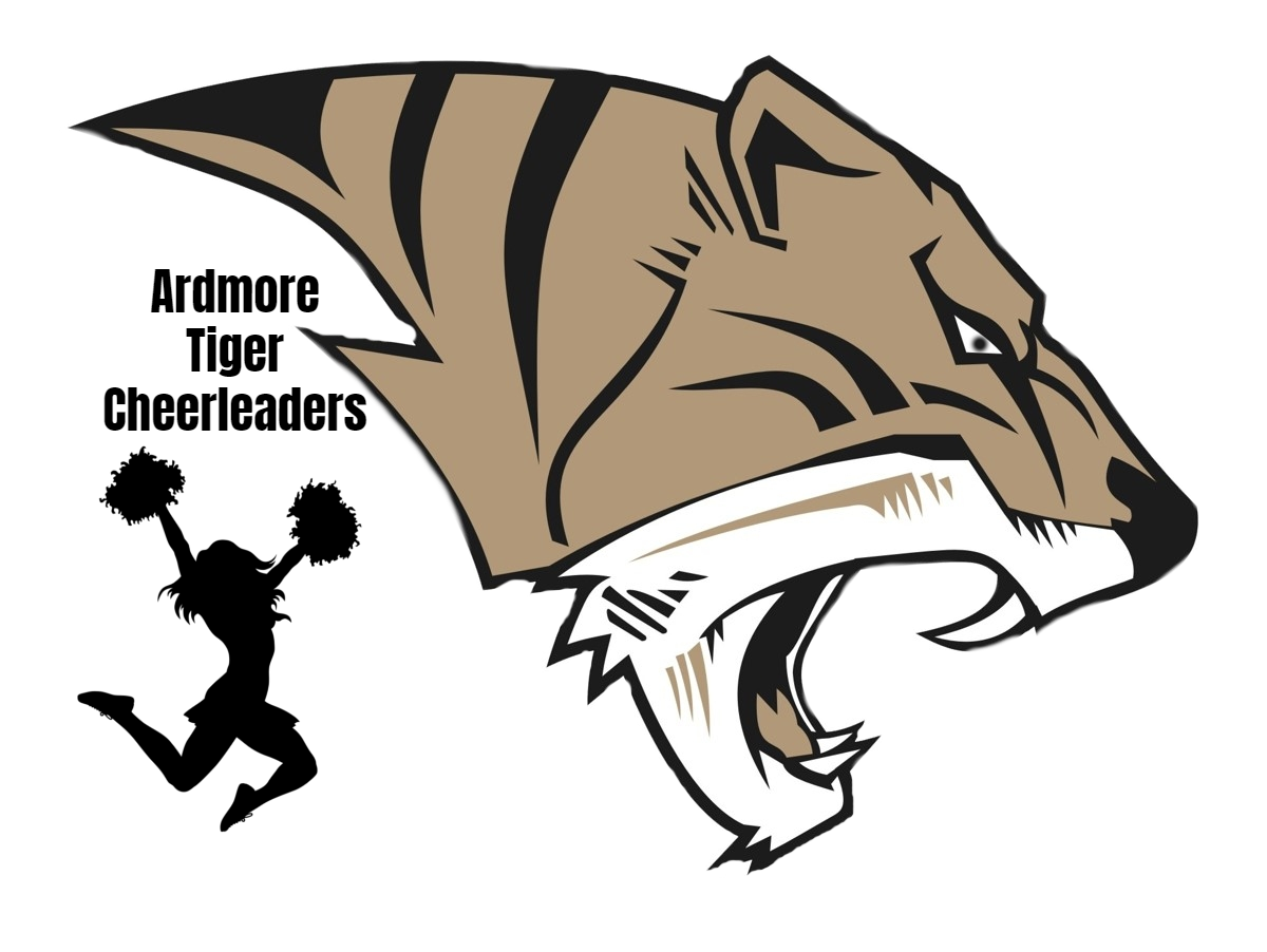 AHS Tiger Head Cheer Logo