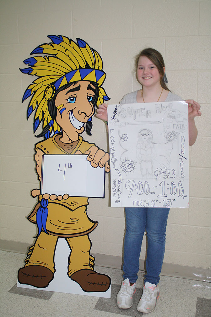 4th place poster winner