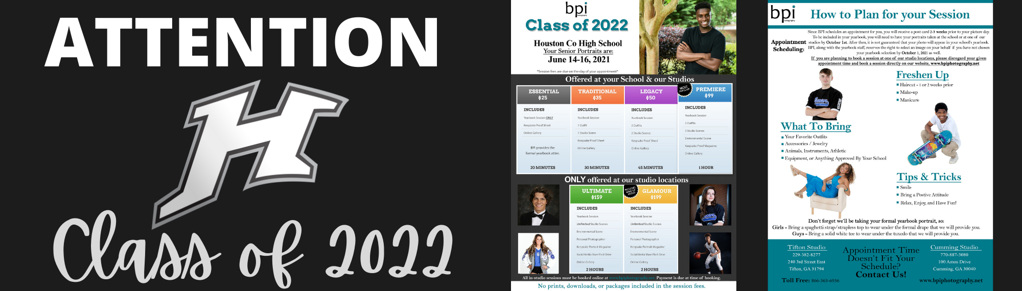 Class of 2022 Senior Pictures Info