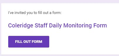 Daily Monitoring Form