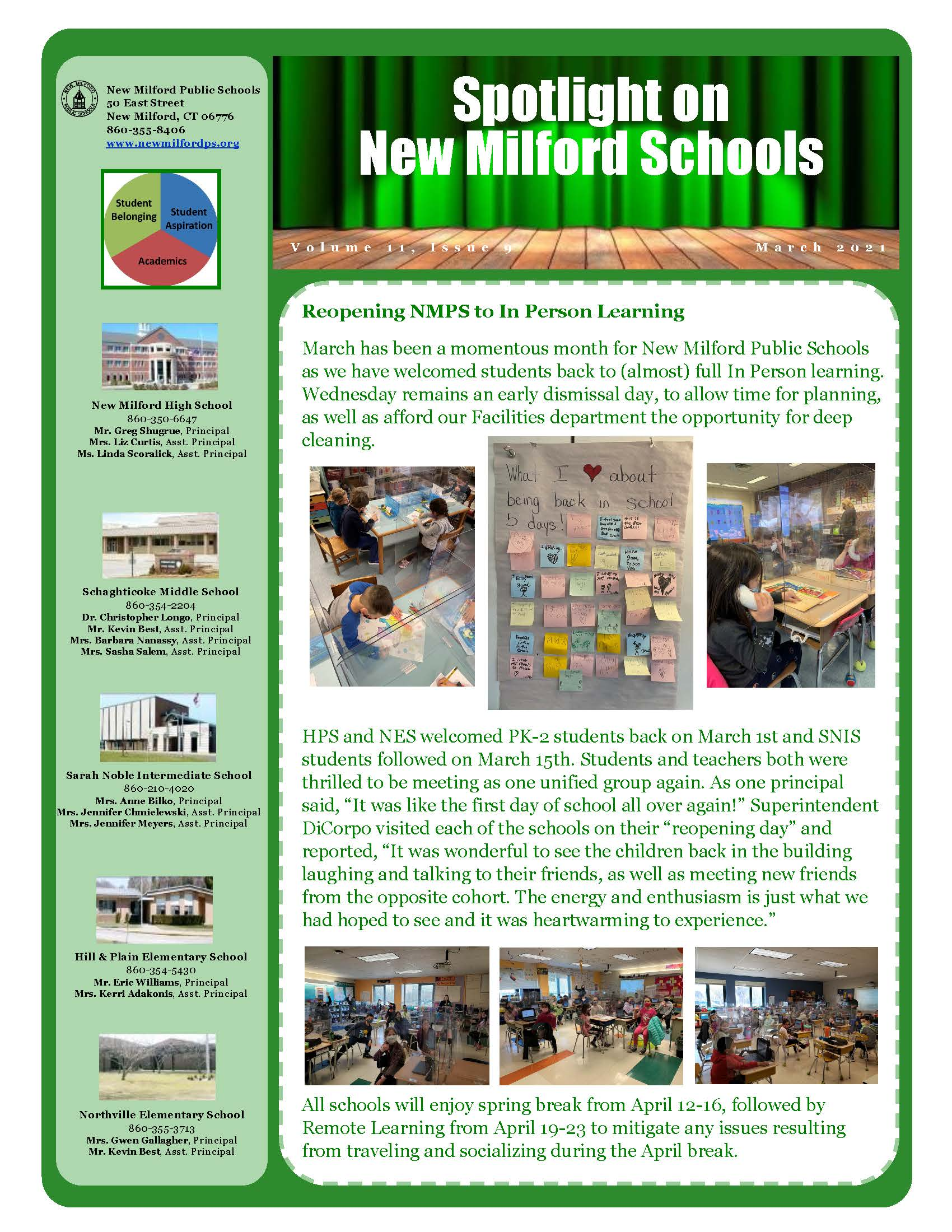 March district newsletter