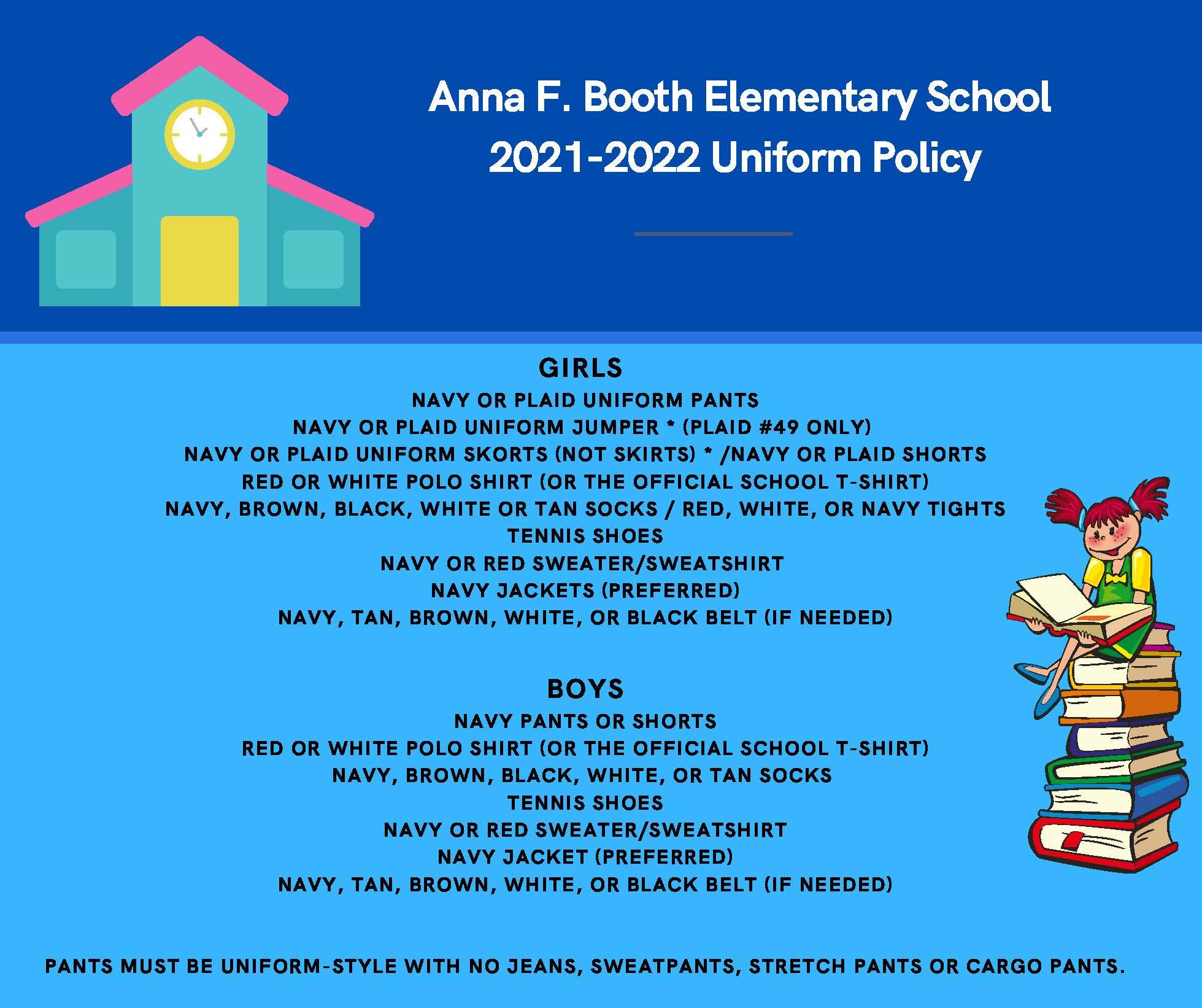 2021-2022 Uniform Policy