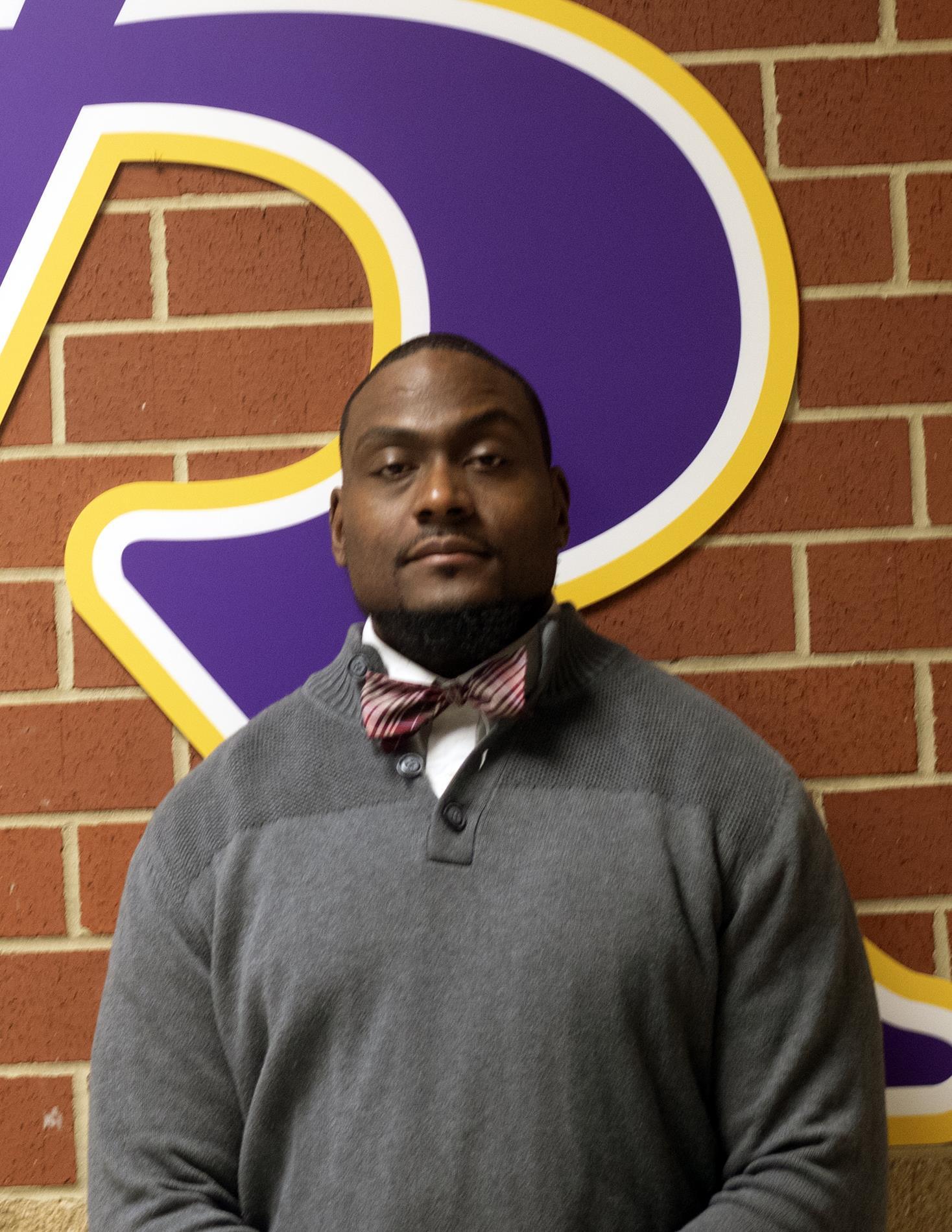Charrod Taylor, Assistant Principal