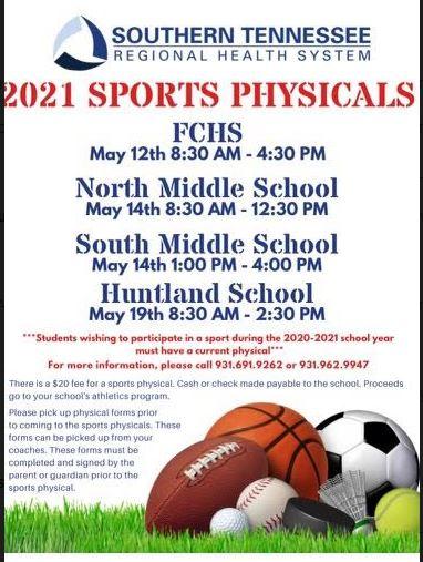 Sports Physcials
