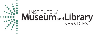 Institute of Museum and Library Services logo with link to website
