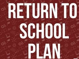 January 2021 - Return to School Plan