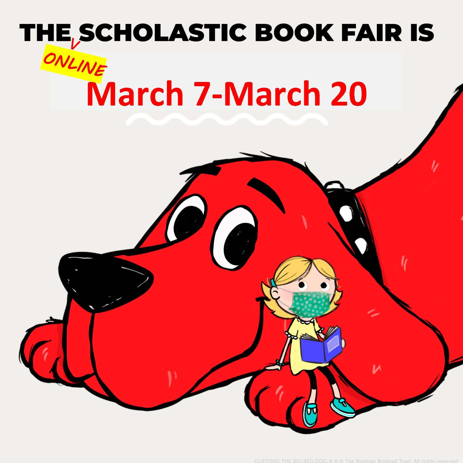 Clifford Reads Too!