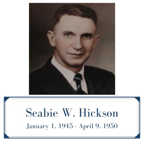 Seabie W. Hickson