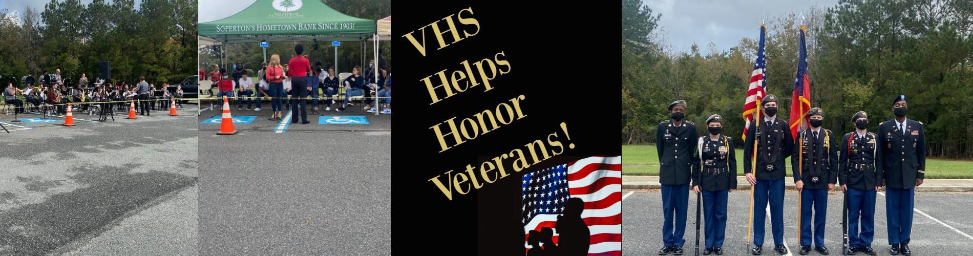 VHS Helps Honor Veterans!