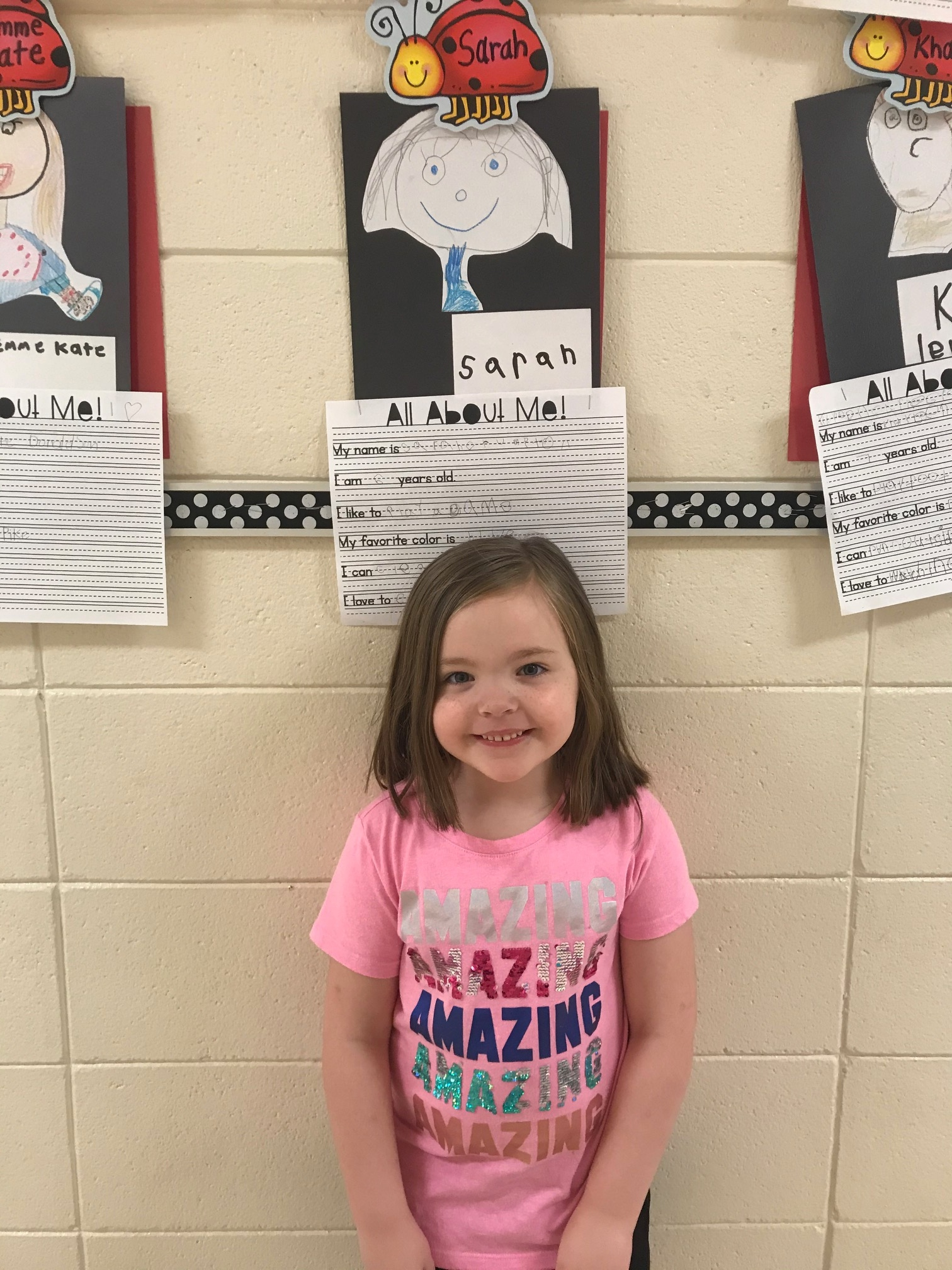 Sarah Crumpton student of the week