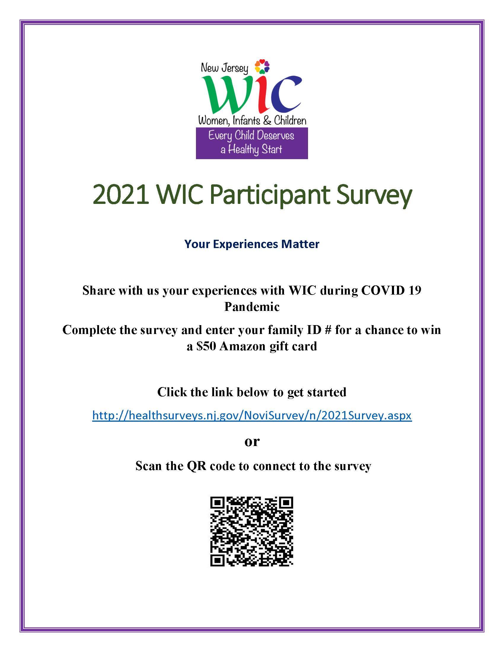 2021 WIC Survey