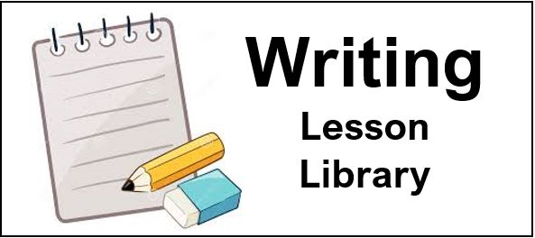 Writing lesson library