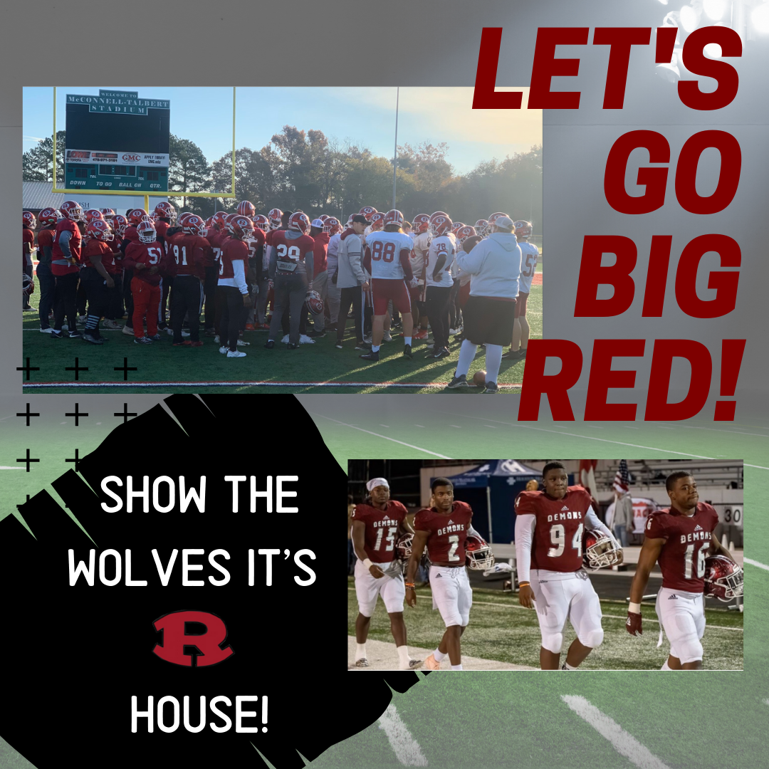 Let's Go Big Red!