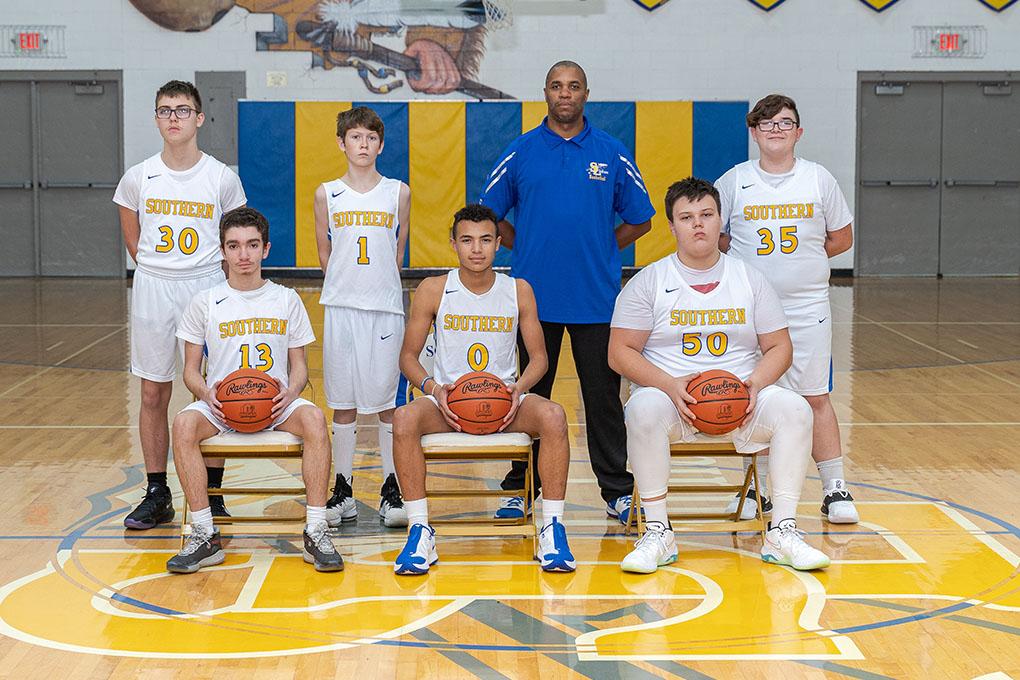 2020-21 8th Grade Team Picture