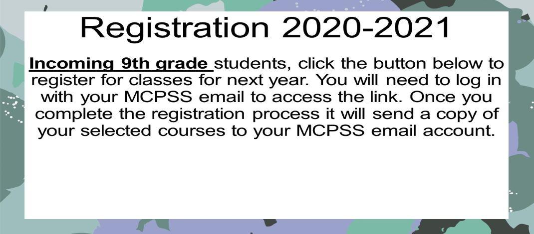 Registration 9th