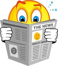 Newsletter reading image