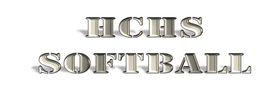 HCHS Softball Text