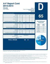 2013-2014 Report Card