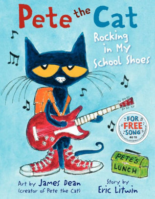 Pete the Cat book cover image
