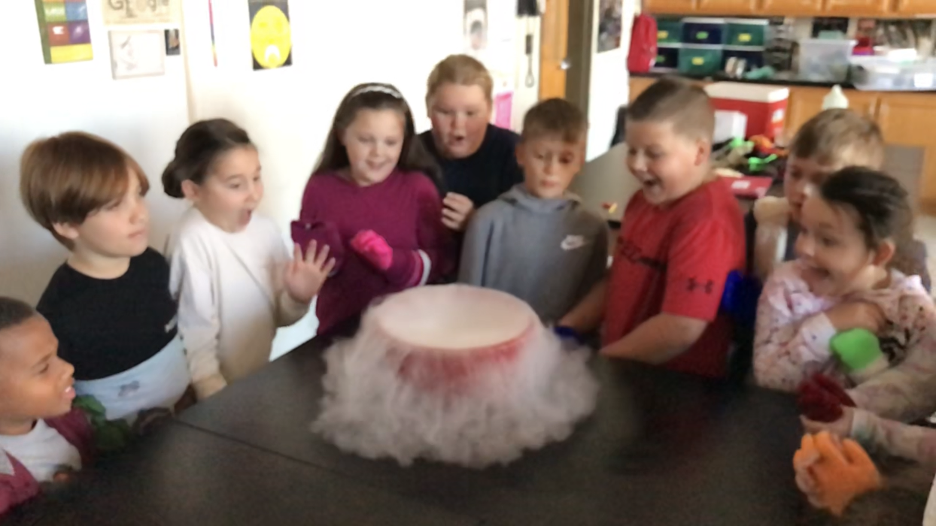 Fun with Dry Ice