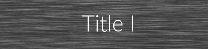 title I tab and link