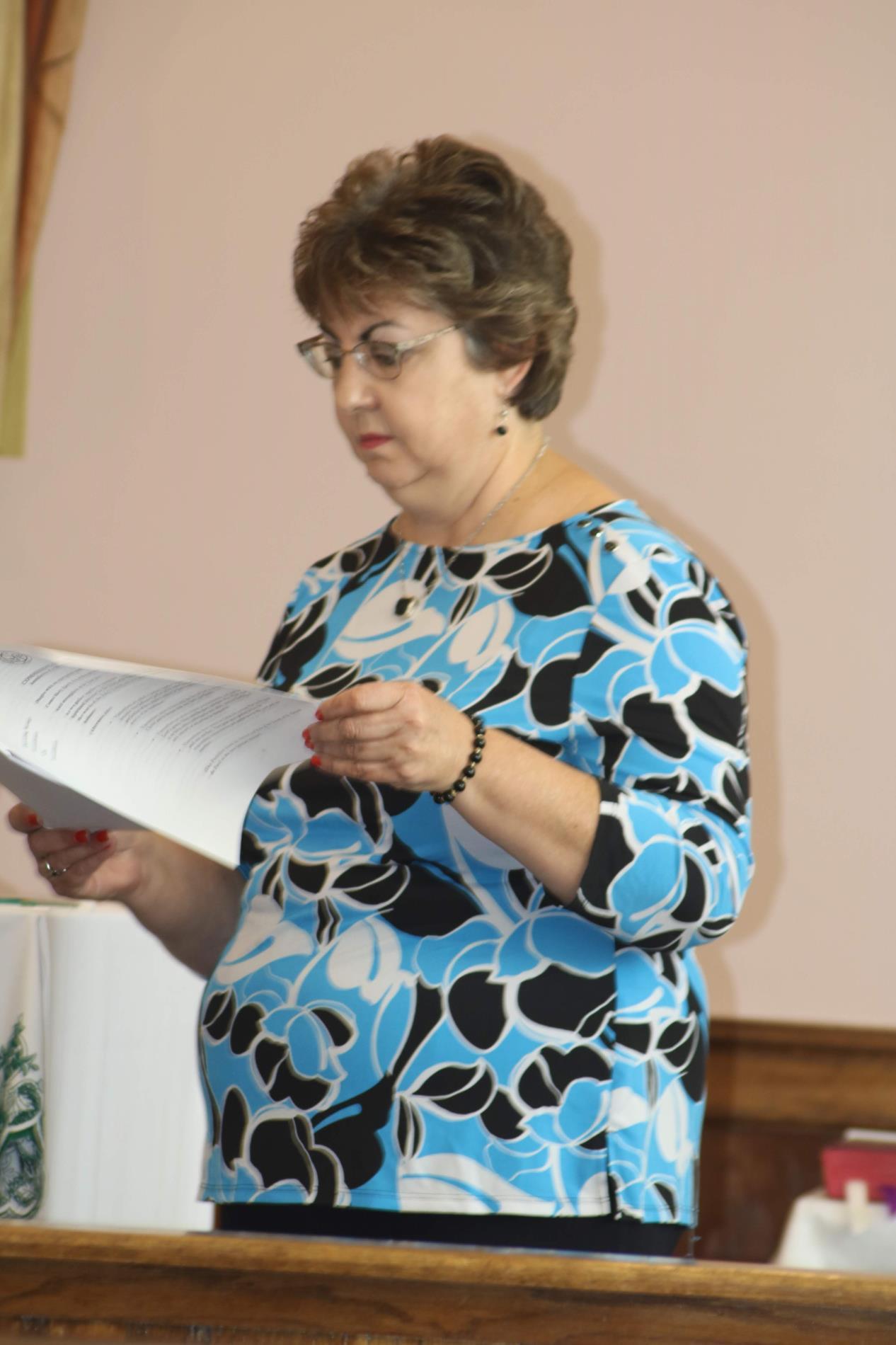 Patti Wilson, incoming President