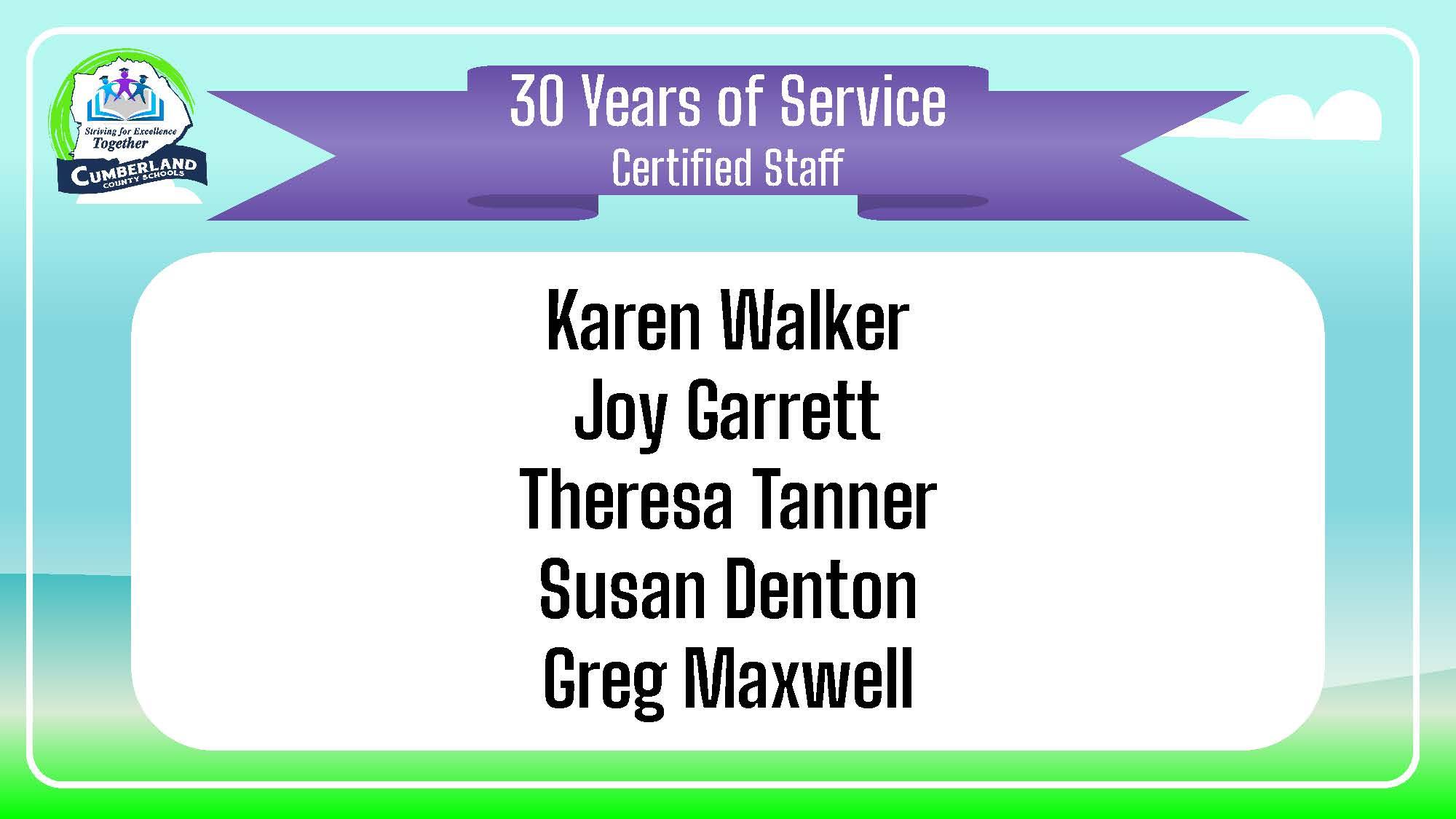 Service Awards 2020