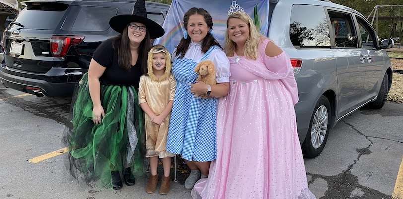 Wizard of Oz at Trunk or Treat
