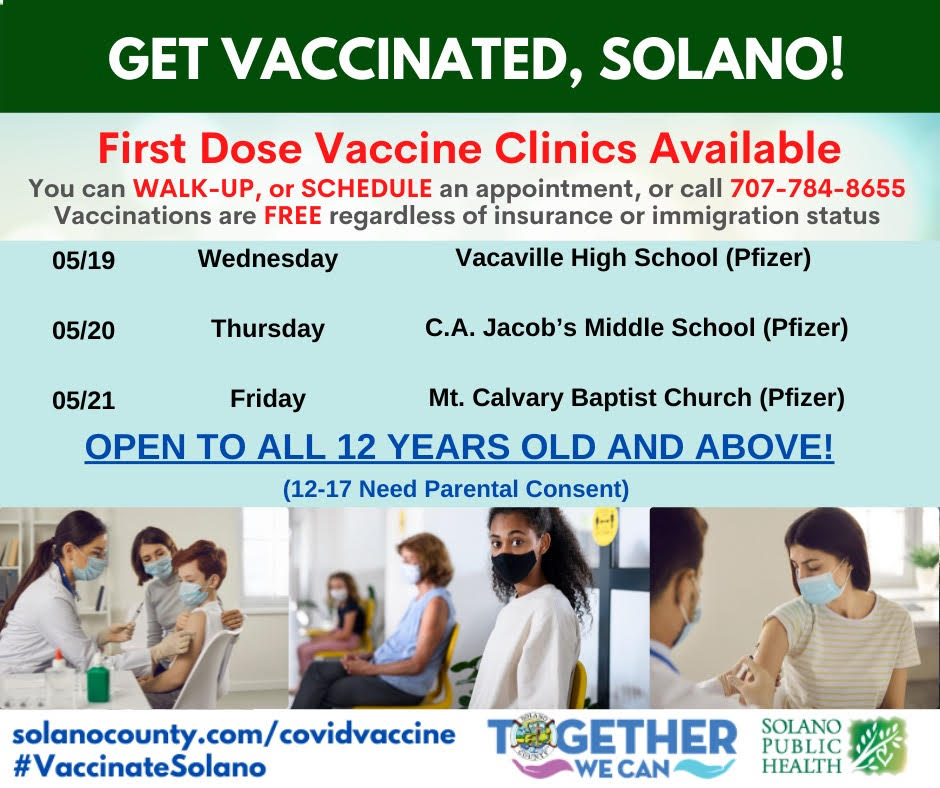 Get Vaccinated Solano!