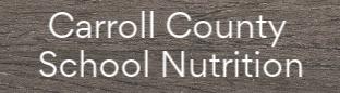 carroll county school nutrition link