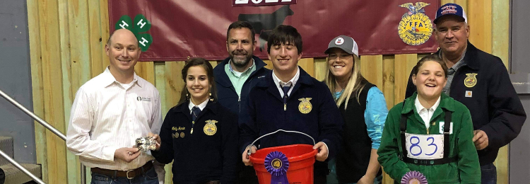 TCMS FFA Students at contest
