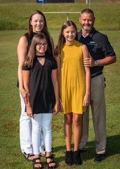 Superintendent and Family