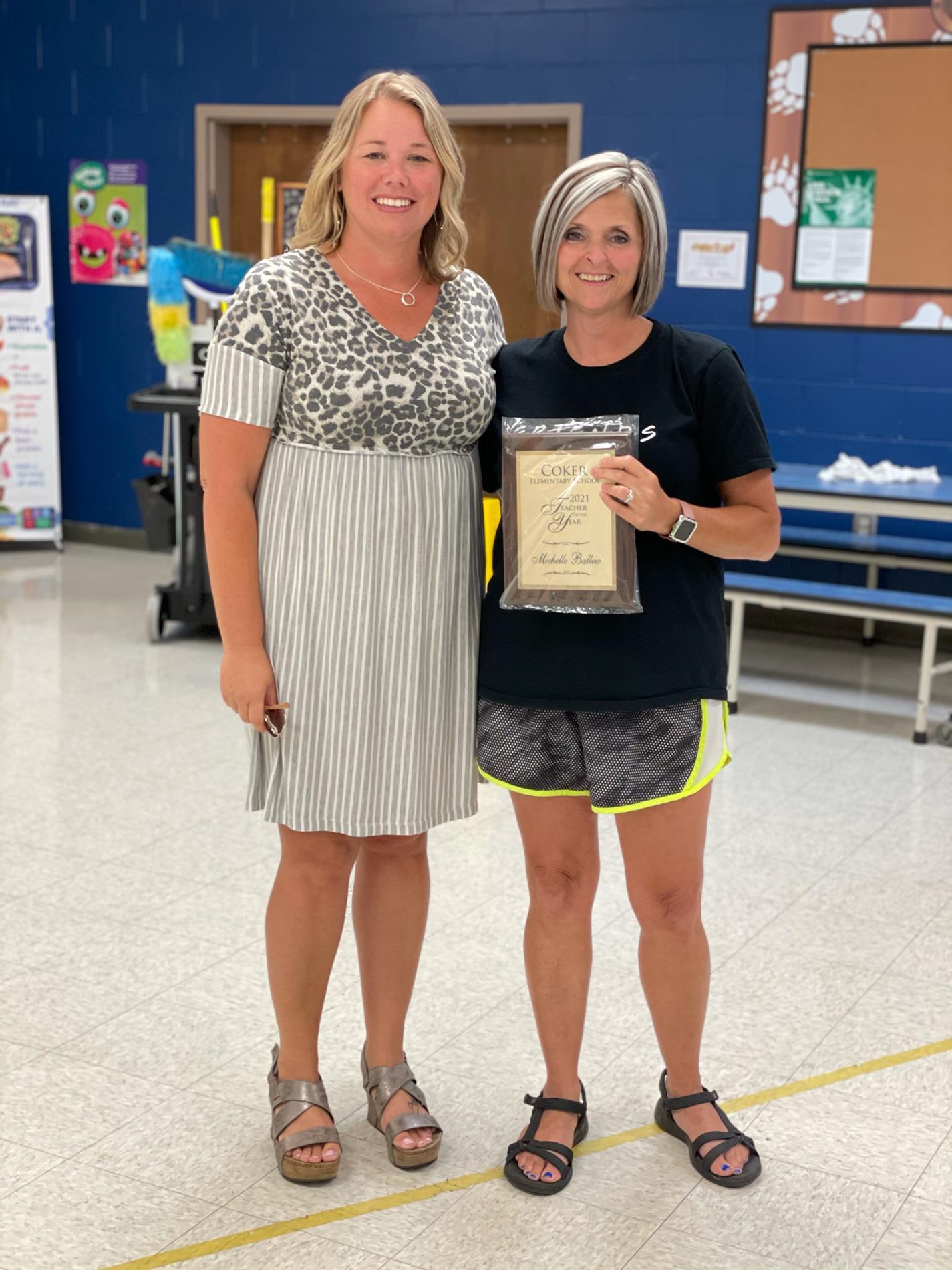 Mrs. Michelle Ballew, Fourth Grade Teacher
