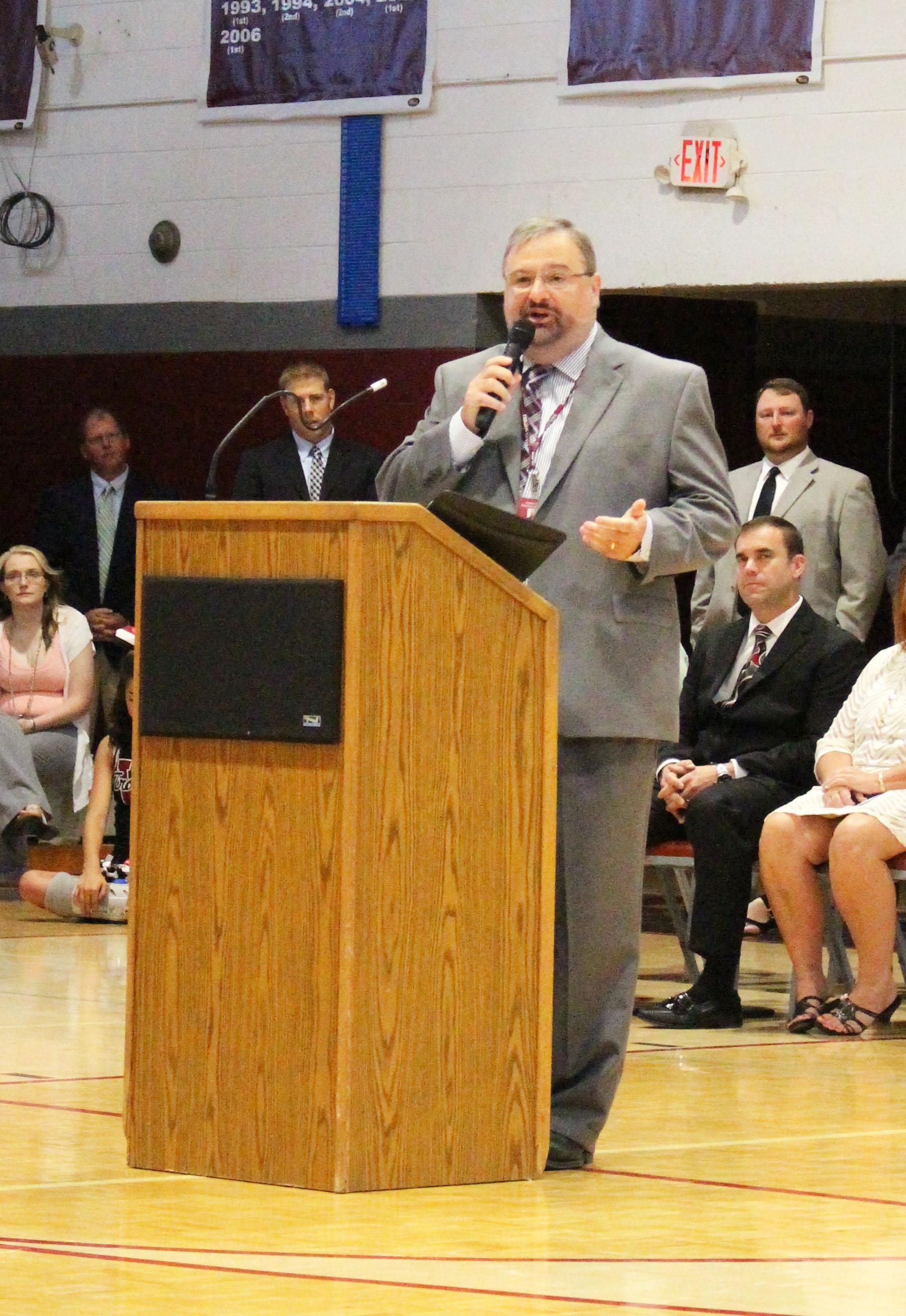 Mr. Kinsler, principal
