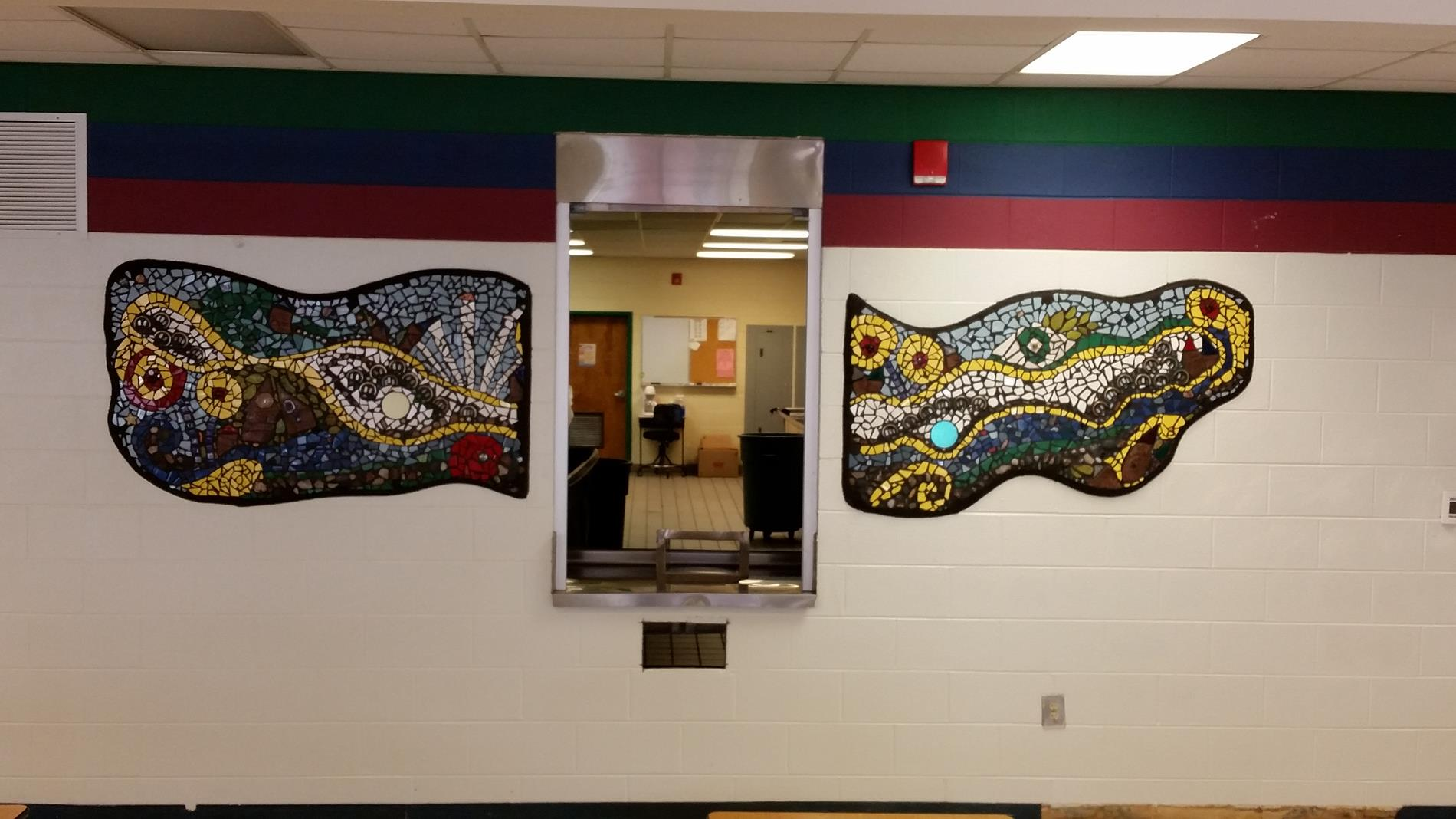 Cafeteria Mosaic