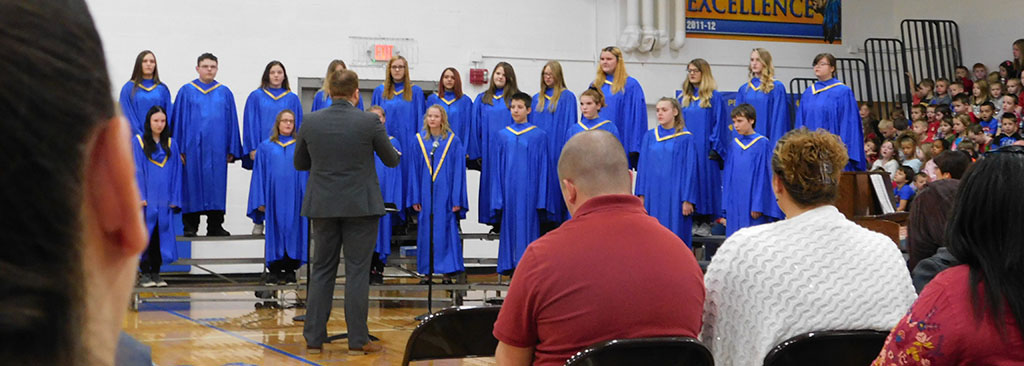 choir honor vets
